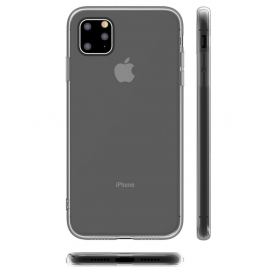 COQUE SILICONE SOUPLE IPHONE 11 6,1 ''ULTRA FINE TRANSPARENTE