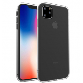 COQUE SILICONE SOUPLE IPHONE 11 PRO MAX 6,5 '' ULTRA FINE TRANSPARENTE