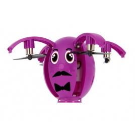 MINI DRONE ENFANT BLUETOOTH EGG ONE PILOTAGE PAR SMARTPHONE ANDROID & IOS VIOLET