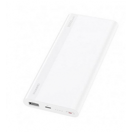 BATTERIE DE SECOURS HUAWEI POWER BANK 10 000 mAh CHARGE RAPIDE 18 Watt 1 PORT USB + ENTREE TYPE C BLANC