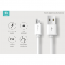 PACK 30 CABLES USB DEVIA MICRO USB 2A CHARGE & SYNCHRONISATION 1 M BLANC