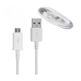 CABLE USB MICRO USB SAMSUNG ORIGINE ECB-DU68WE 1M SYNCHRONISATION ET CHARGE BLANC VRAC