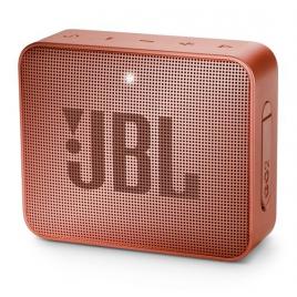 HAUT PARLEUR BLUETOOTH JBL GO2 PORTABLE ETANCHE IPX7 ORANGE CLAIR