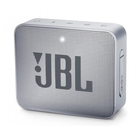 HAUT PARLEUR BLUETOOTH JBL GO2 PORTABLE ETANCHE IPX7 GRIS