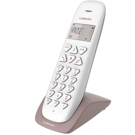 TELEPHONE SANS FIL LOGICOM VEGA 150 MAINS LIBRES TAUPE