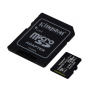 CARTE MEMOIRE 128 GIGA MICRO SD KINGSTON AVEC ADAPTATEUR 100 MB/S CLASS 10