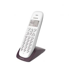 TELEPHONE SANS FIL LOGICOM VEGA 150 MAINS LIBRES AUBERGINE