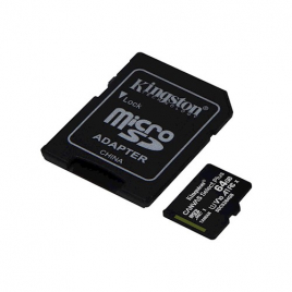 CARTE MEMOIRE MEMORY CARD MICRO SD 64 GIGA AVEC SUPPORT
