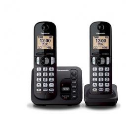 TELEPHONE SANS FIL DUO PANASONIC + REPONDEUR TGC 222