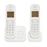 TELEPHONE SANS FIL DUO PANASONIC BLANC + REPONDEUR TGC 422