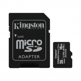 CARTE MEMOIRE MICRO SD 16 GIGA AVEC SUPPORT