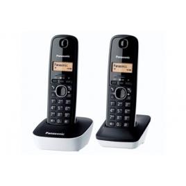 TELEPHONE SANS FIL PANASONIC KX-TG 1612 DUO SANS REPONDEUR NOIR