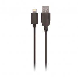 DATA CABLE LIGHTNING NOIR SETTY 3 Mètres / 2A
