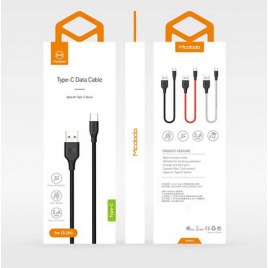 DATA CABLE TYPE C FAST CHARGE MC DODO NOIR 2,4A