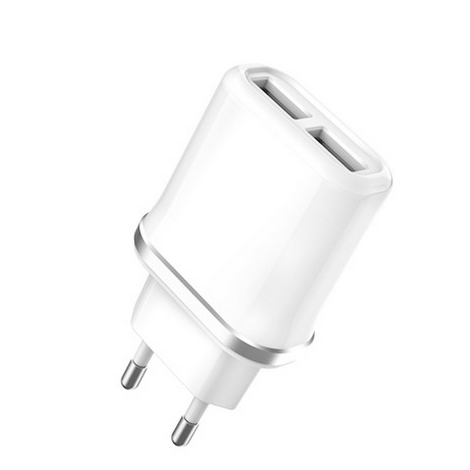 CHARGEUR XO / 2USB 2,1A QUICK CHARGE