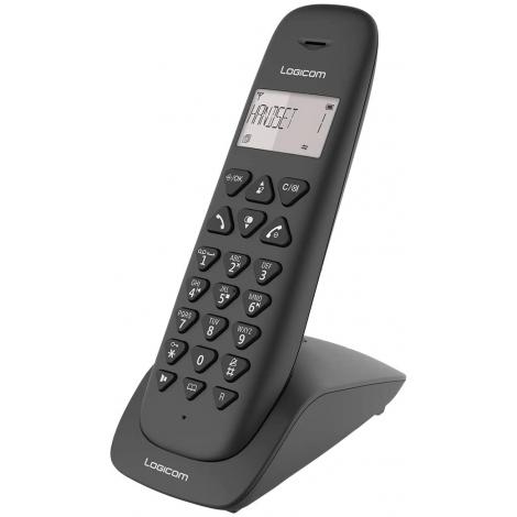 TELEPHONE SANS FIL +REPONDEUR LOGICOM VEGA 155T MAINS LIBRES NOIR