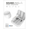 PACK ECOUTEUR + HP BLUETOOTH BLANC