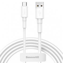DATA CABLE BASEUS TYPE C FAST CHARGE BLANC