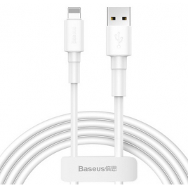 DATA CABLE BASEUS POUR IPHONE / LIGHTNING BLANC