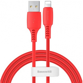 DATA CABLE BASEUS POUR IPHONE / LIGHTNING ROUGE