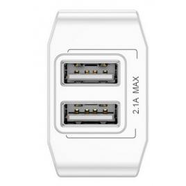 BASEUS CHARGEUR 2 USB 2.1A