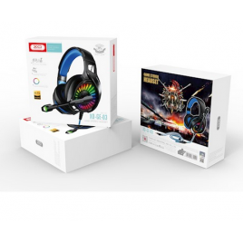 CASQUE MULTIMEDIA LED GAMES + MICRO QUALITE HI FI GE03