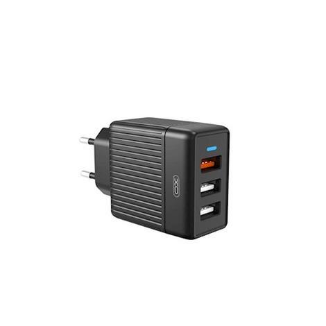 CHARGEUR SECTEUR 3 USB / XO L58 / 18W