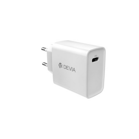 CHARGEUR SECTEUR FAST CHARGE 20W DEVIA / SORTIE TYPE C