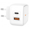 CHARGEUR SORTIE USB + SORTIE TYPE C XO 18W FAST CHARGE
