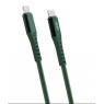CABLE LIGHTNING VERS TYPE C 18W VERT FAST CHARGE