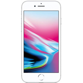 IPHONE 8 64 GIGA SILVER RECONDITIONNE GRADE A NU