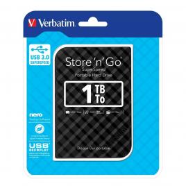 DISQUE DUR VERBATIM 1T° USB3