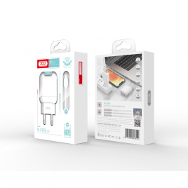 CHARGEUR + DATA TYPE C 2USB 2.4A FAST CHARGE