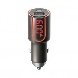 ALLUME CIGARE 30W + LCD USB + TYPE C