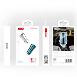 ALLUME CIGARE XO 2 USB 3.5A FAST CHARGE SILVER
