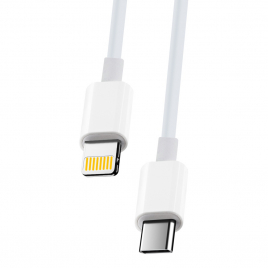 DATA CABLE TYPE C VERS LIGHTNING FAST CHARGE 20W MAXLIFE