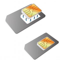 Set d'adaptateurs Noosy carte SIM Nano SIM - Micro SIM - Mini SIM